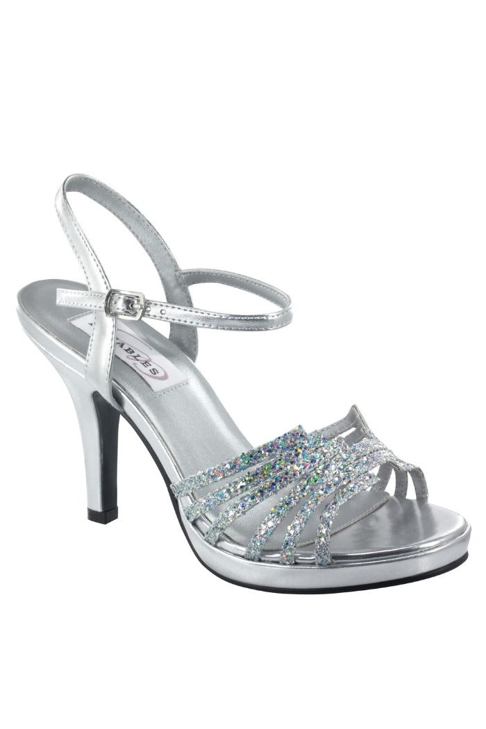 silver shoes for wedding mother | Home > Shoes > Leah Silver Glitter Prom Shoes DY22412