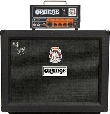 Orange Signature 4 Jim Root Terror Head and PPC212 Cab Package.