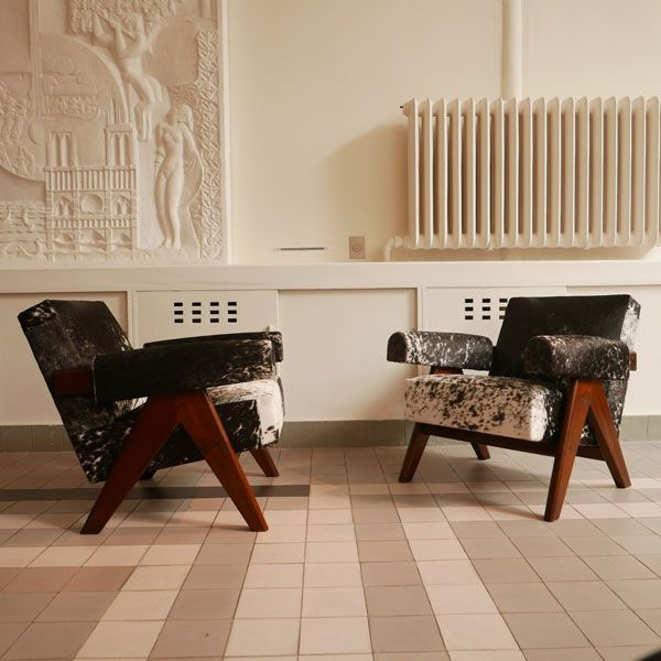 Pierre jeanneret le corbusier inventaire mobilier for Le corbusier meuble