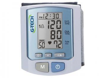 Aparelho/Medidor de Pressão Digital de Pulso - G-Tech RW450