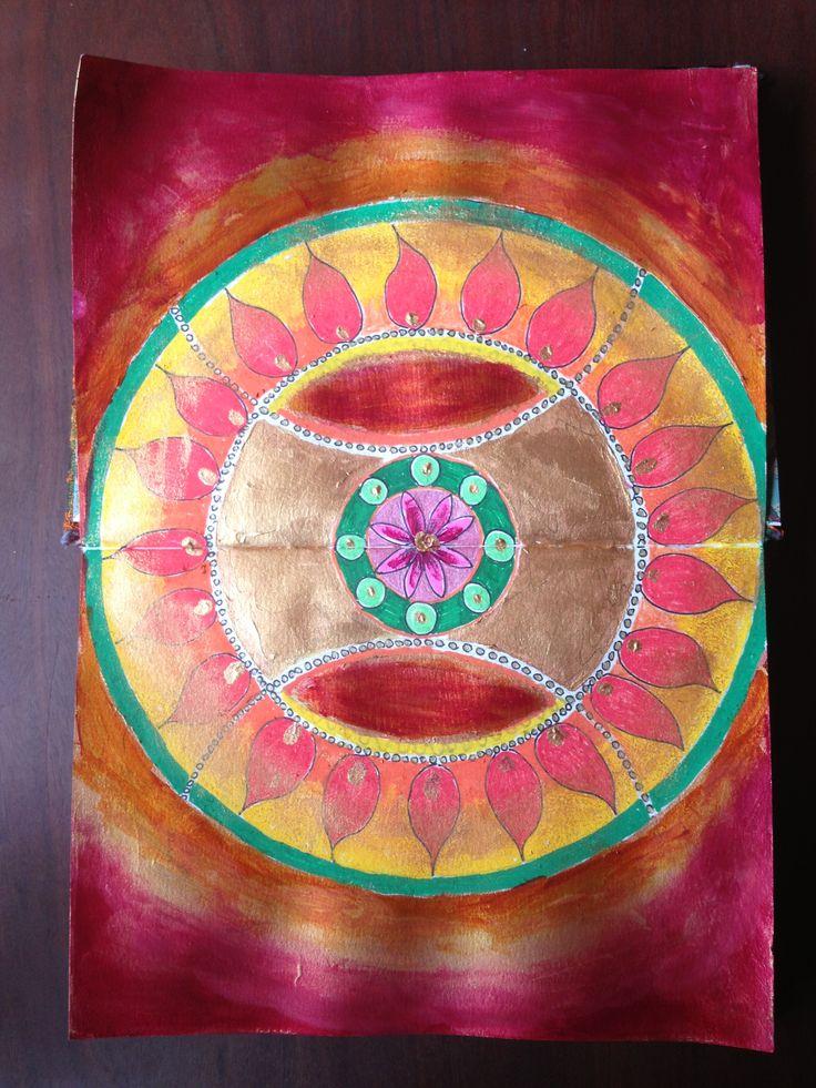 Mandala page