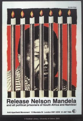 Our hero, our Madiba: A call to the apartheid government to release Nelson Mandela.