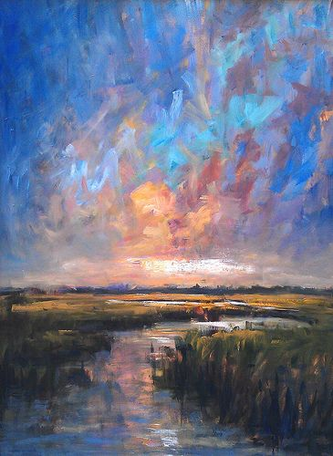 Lowcountry Hues | 24 x 18 Oil Painting on Panel | Charleston… | Flickr