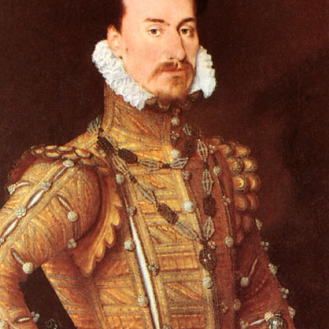 Robert Dudley, Earl of Leicester. Elizabeth I favourite.