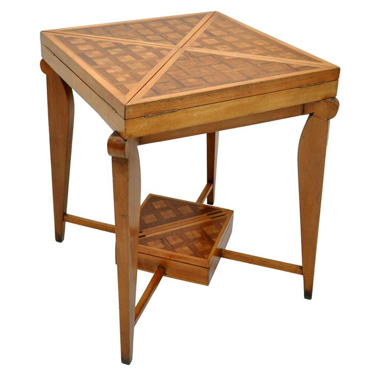 13 best french art deco images on pinterest antique for Contemporary game table and chairs