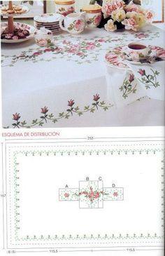 Gallery.ru / Фото #89 - *****toalhas de mesa***** - celita
