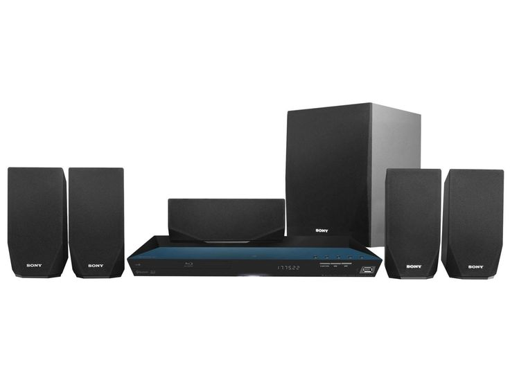built in home sound system. sony 5.1 channel 800 watts 3d blu-ray dvd surround sound home theater system with built in t