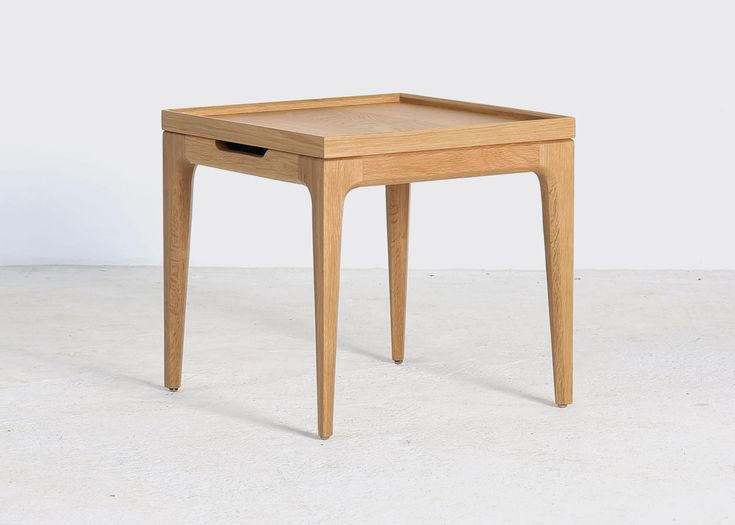 A useful addition to the contemporary styled sitting room, the lamp table is a simple lined occasional design that has Scandi influences. The Langli lamp table features a removable tray top with hidden storage beneath, ideal for storing nick nacks and remote controls. Elegant tapered legs give it a retro vibe. Measuring a neat 50x50x48cm, …