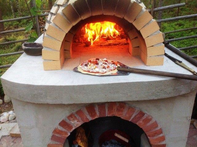 Pizzauunin rakennusohje