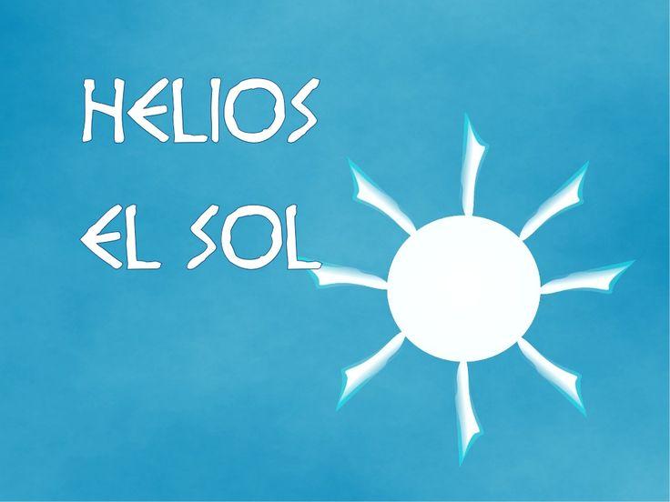 Helios,el sol by Melisa Penélope via slideshare