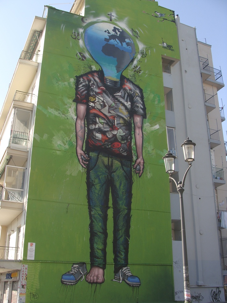 Graffiti at Melenikou Street