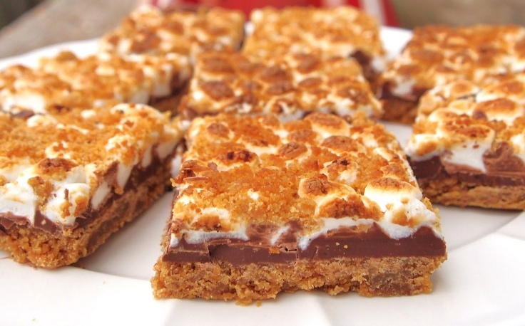 S'mores BarsSmores Bar, S'More Bar, The Alchemist, S'Mores Bar, Favorite Recipe, Sweets Tooth, S More Bar, Summer Treats, Perfect Summer