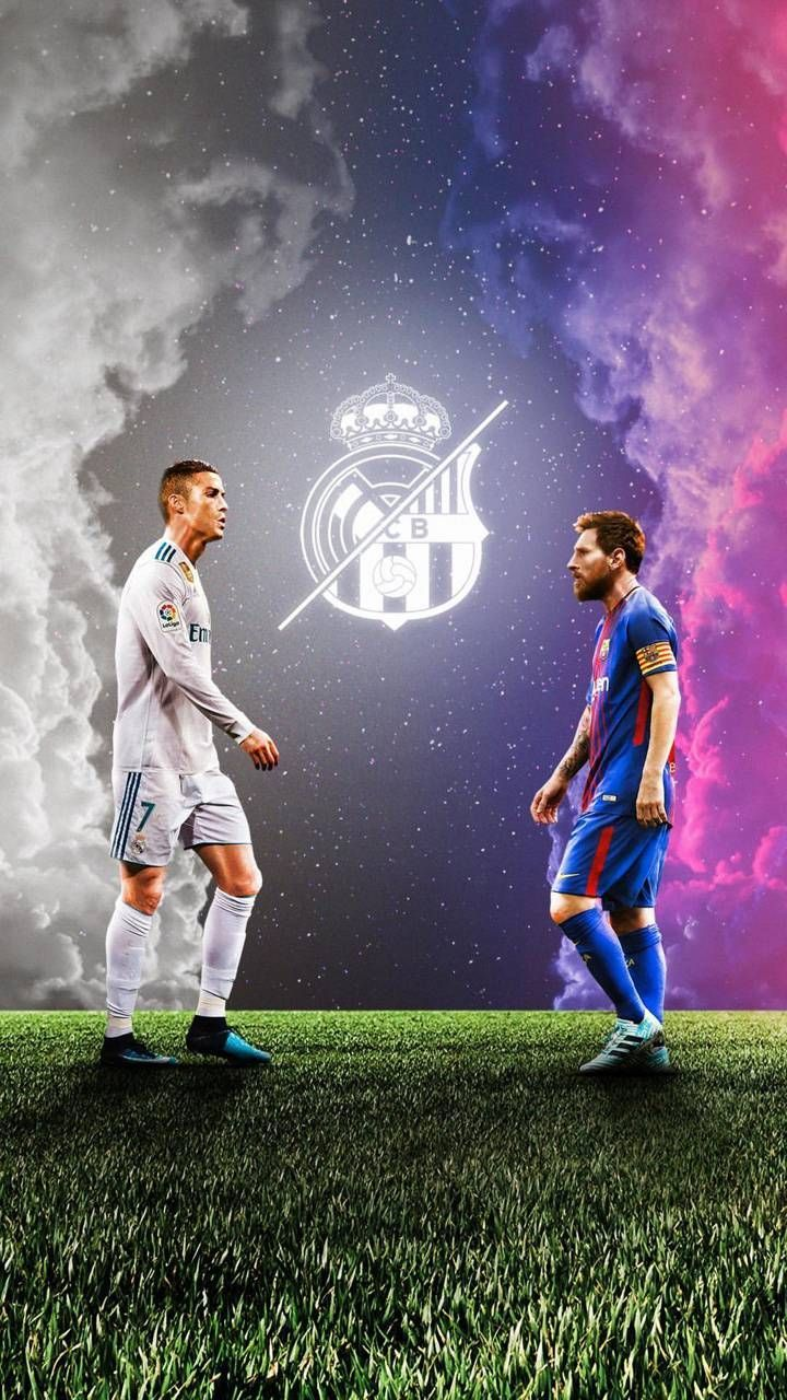 Download Ronaldo Messi Wallpaper By Luci Sports Ronaldo Wallpapers Messi And Ronaldo Wallpaper Cristiano Ronaldo And Messi
