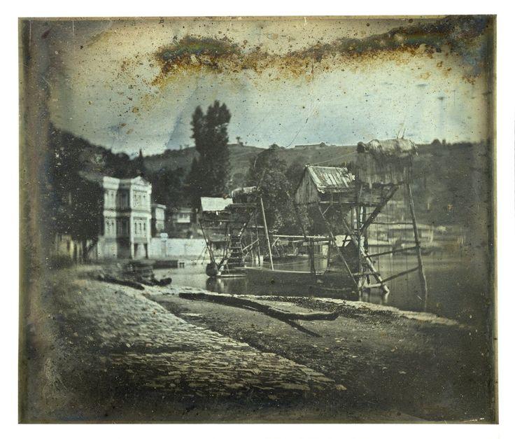 Joseph Prangey - Fishery, North Bosphorus, 1842-1844