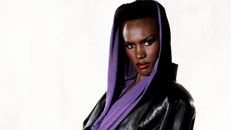 Grace Jones isn't afraid to tell people what's on her mind.  With the recent release of her autobiography, the model/artist took shoots at everyone from Beyoncé, to Nicki Minaj, to Lady Gaga, claiming that they jacked her style and aesthetic.  Her latest target is Kim Kardashian, who Jones simply calls