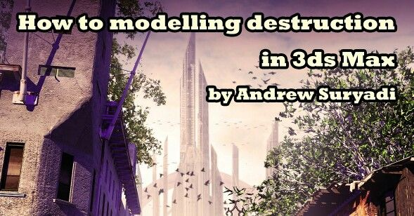 How to modelling destruction in 3ds max tutorial now available at www.mementoanimation.com