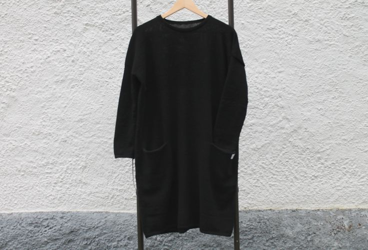 Knitted LBD 65%wool 35%alpaca.