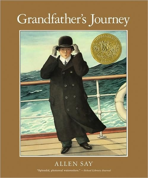 Grandfather's Journey by Allen Say. 1994 Winner