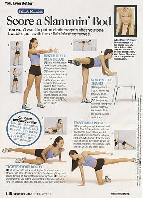Tracy Anderson Method ~ Fit in 6 Minutes - Tracy Anderson - Zimbio