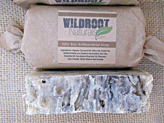 Dirty Boy Antibacterial Soap Eucalyptus Tea by WildrootNaturals, $6.00