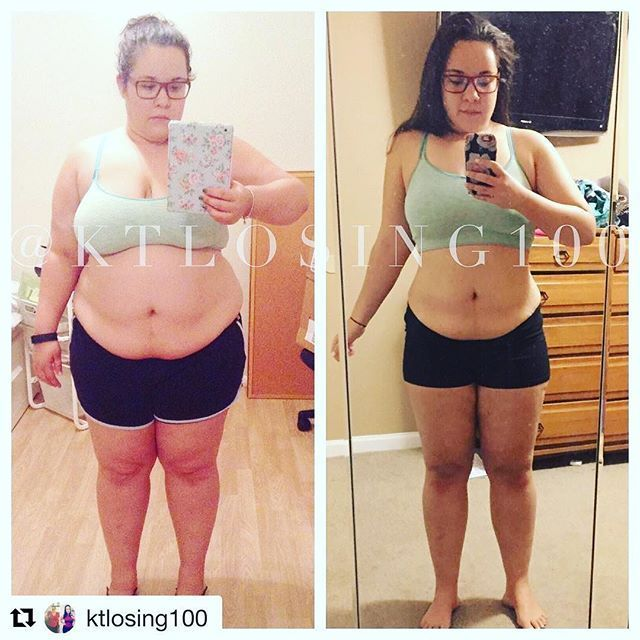 IG InspirWeighTion via @ktlosing100 �Visit TheWeighWeWere.com to read full weight loss stories!�