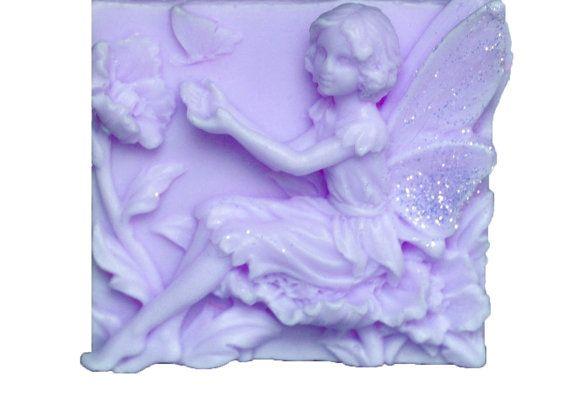 Lavender Soaps - Organic Soaps - Decorative Soaps  - Soaps -  Glycerin Soaps  - Fairy Soaps  -  Moisturizing Soaps - Essential Oil Lavender via Etsy