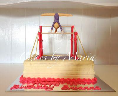 Gymnastics Cake ~ Cakes by Maria