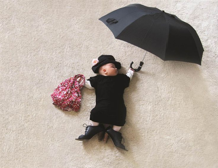 """""""When My Baby Dreams of Fairy Tails"""" Mom turns sleeping baby into fairy-tale star- slideshow - slide - 5 - TODAY.com"""