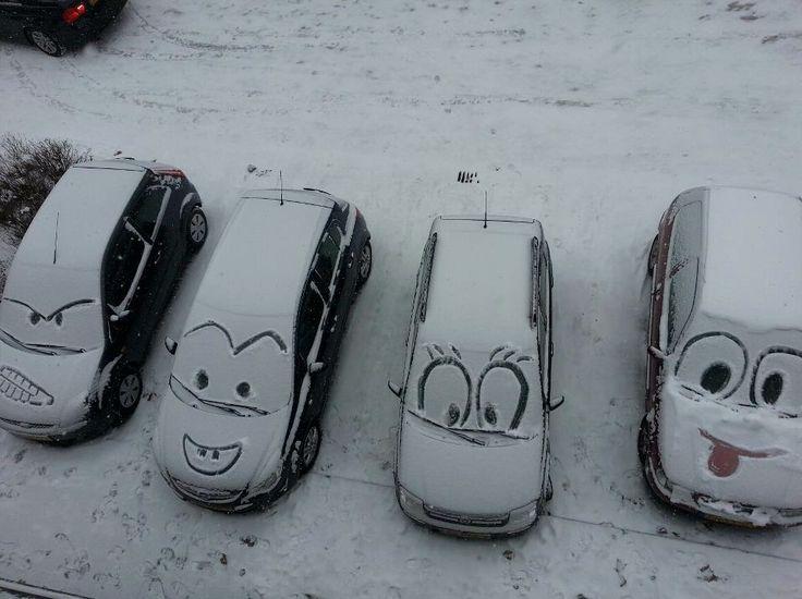 Next time it snows...
