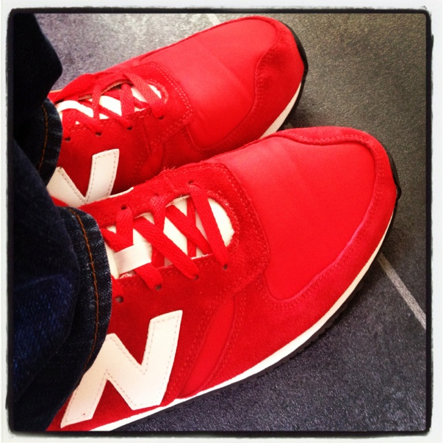 Big red machines (New Balance)