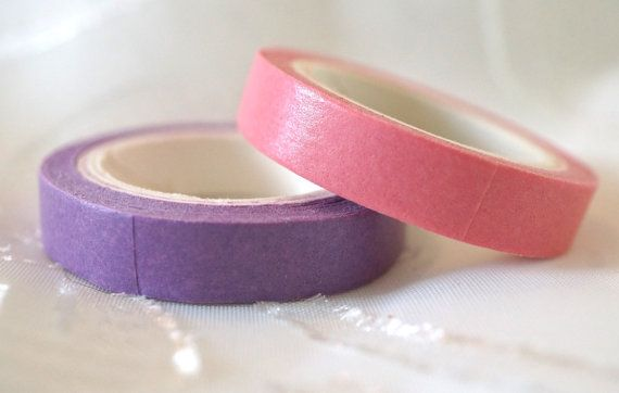 Creative colors WASHI masking TAPE stationery by MyChildhoodDream