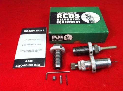 RCBS Reloading Equipment Die Hand-loading Tool Set 356 Mag From Estate Lot