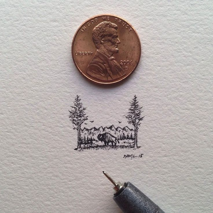 Tiny Bison by Sam Larson