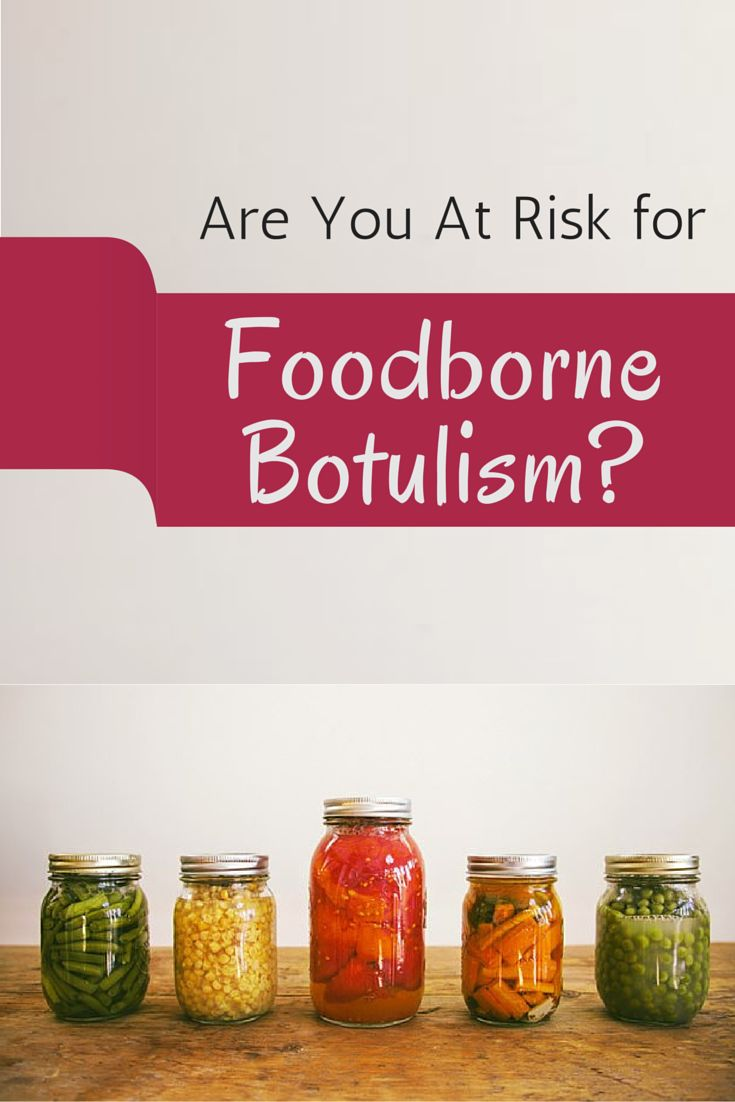 botulism caused by disease in