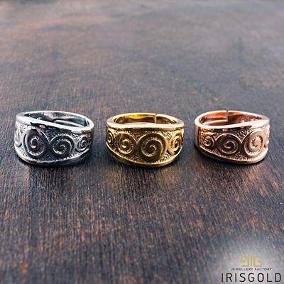 Ring '' Archaic Circles'