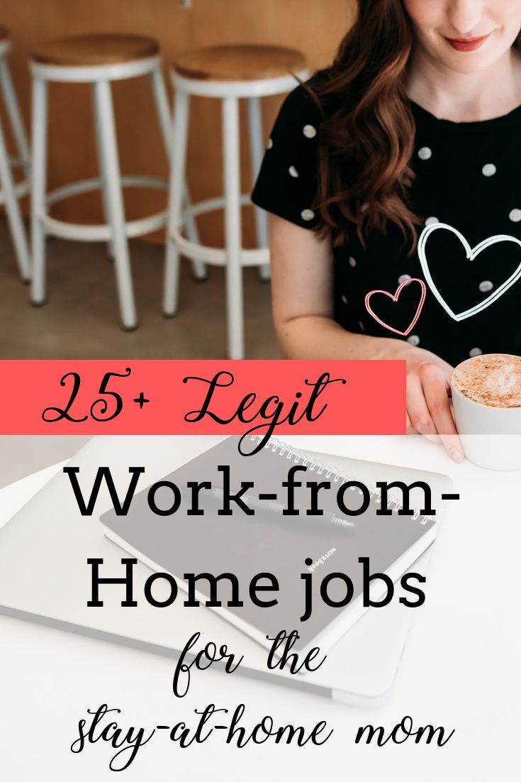 25+ Work-From-Home Mom Opportunities