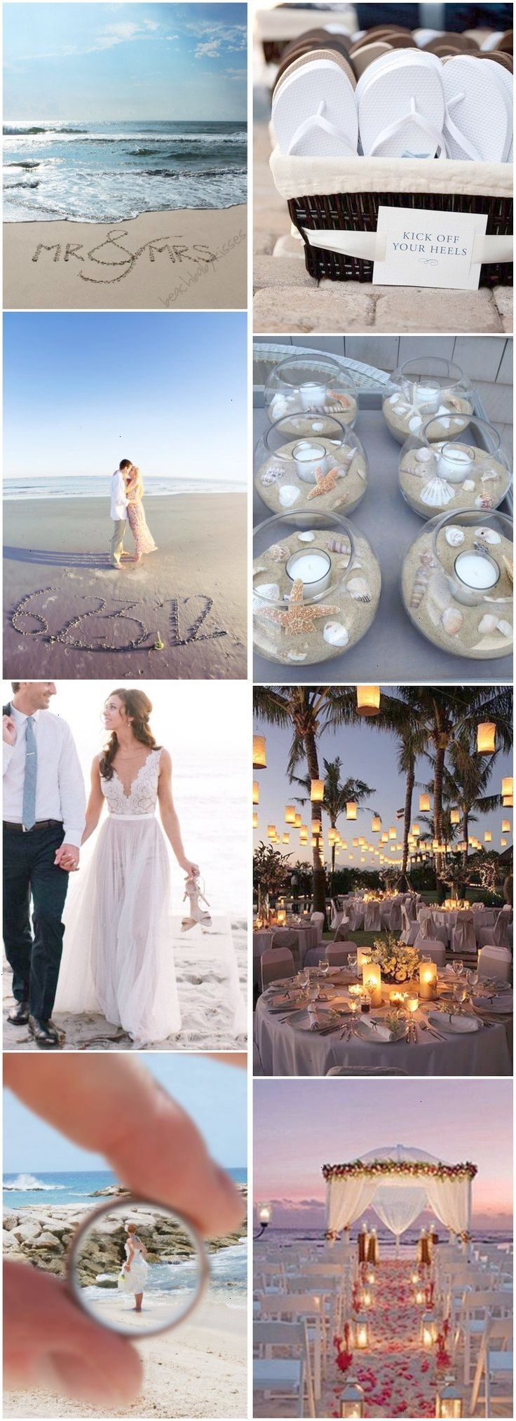 best beach wedding images on pinterest