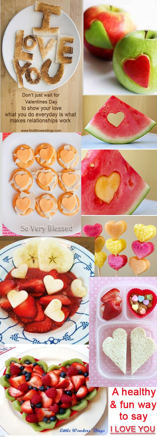 valentines day food ideas love - Healthy Valentines Snacks