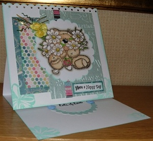 Fizzy moon card