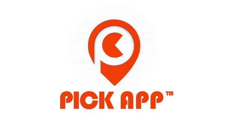 PickApp logó 3D animáció - üveg Logó animáció készítés mobil applikáció témában