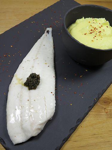 Filets de Turbo au Caviar