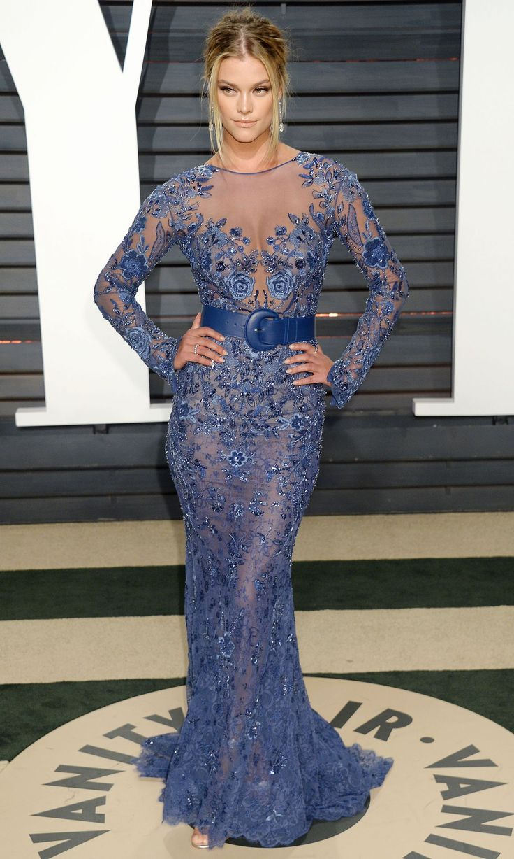 Nina Agdal in Zuhair Murad Couture at 2017 Vanity Fair Oscar Party in Los Angeles Check more at https://fashnberry.com/2017/03/nina-agdal-in-zuhair-murad-couture-at-2017-vanity-fair-oscar-party-in-los-angeles/