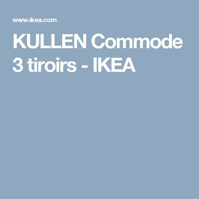 Best 25 commode 3 tiroirs ideas on pinterest - Ikea commode 3 tiroirs ...