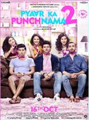 PYAAR KA PUNCHNAMA 2 is a smartly done nonstop fun that assures satisfaction to its followers - today's teens and yesterday's teens. Go for it. Pyaar Ka Punchnama 2 review by Vishal Verma: 3.5/5 Pyaar Ka Punchnama 2 review by Vishal Verma: 3.5/5.