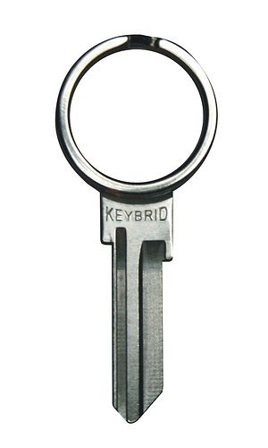 it's a key and key ring in one