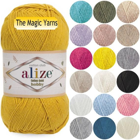 Amazon.com: Katia Amigurumi Yarn Kit (S01 - Naturals-Cyan-Magentas)   570x570