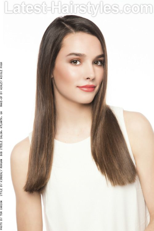Straight Sassy Long Hairstyle