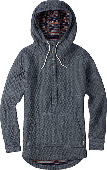 Burton Cabo Woven Pullover - Women's Snowboard Jacket - Hoodie - Hoody - Gift Idea - Snowboarding - Christy Sports - 2014