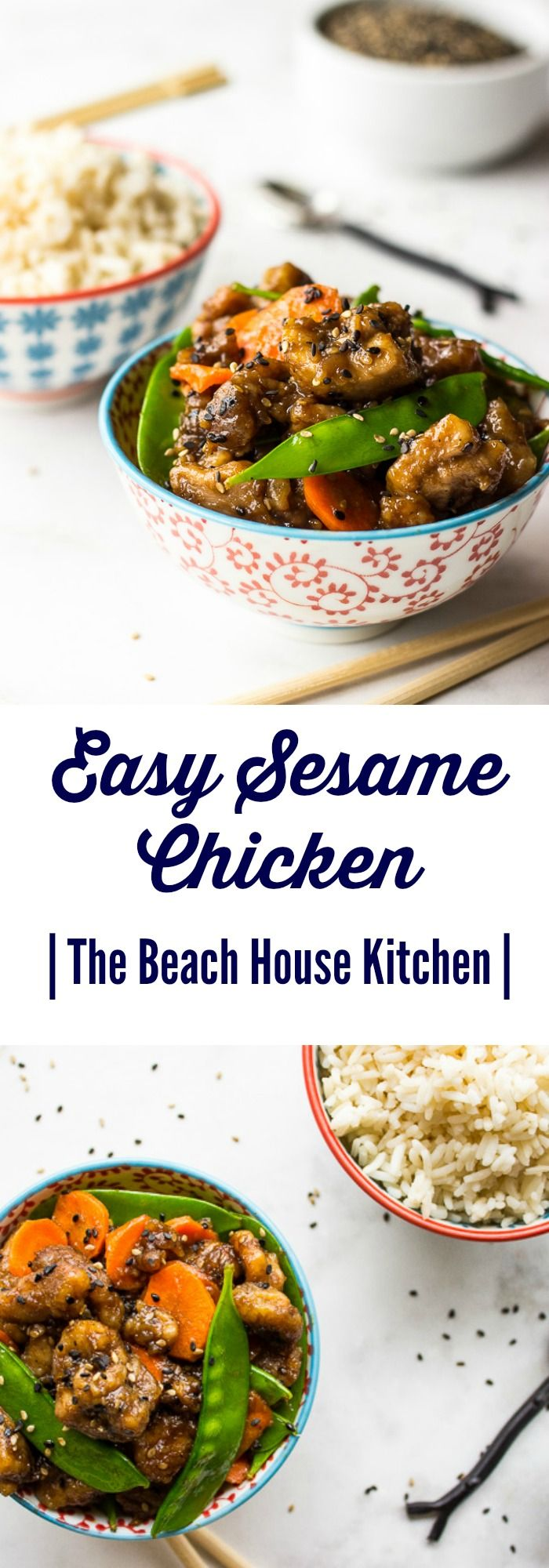 Who needs takeout when you can enjoy this Easy Sesame Chicken made right at home!