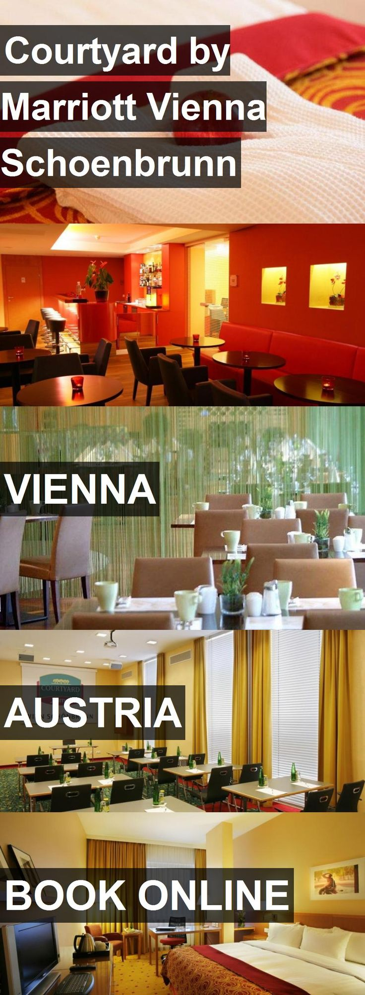 Hotel Courtyard by Marriott Vienna Schoenbrunn in Vienna, Austria. For more information, photos, reviews and best prices please follow the link. #Austria #Vienna #travel #vacation #hotel